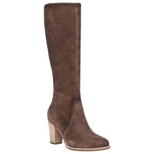 Ecco 'Norwich' Nubuck Leather Knee-High Boots